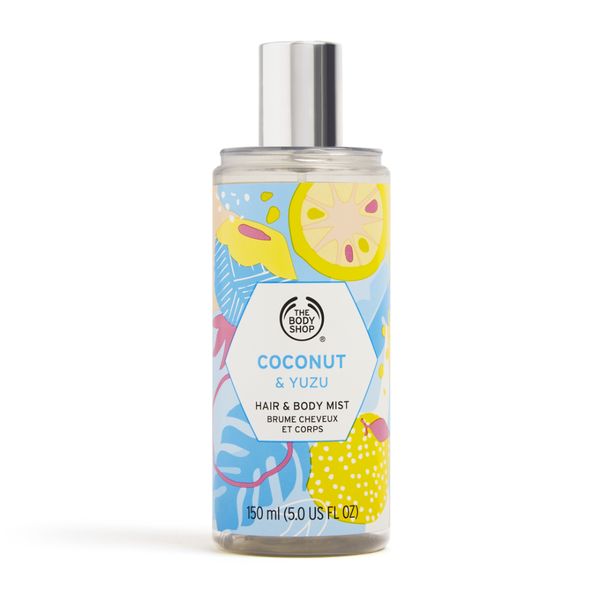Hair & Body Mist de Coco y Yuzu