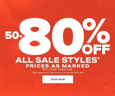 50-80% OFF ALL SALE STYLES