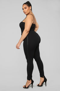 Yas Ponte Yas Leggings - Black