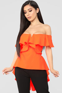 The Thrill Top - Neon Orange