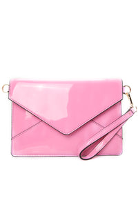 Do It Bright This Time Crossbody Clutch - Neon Pink
