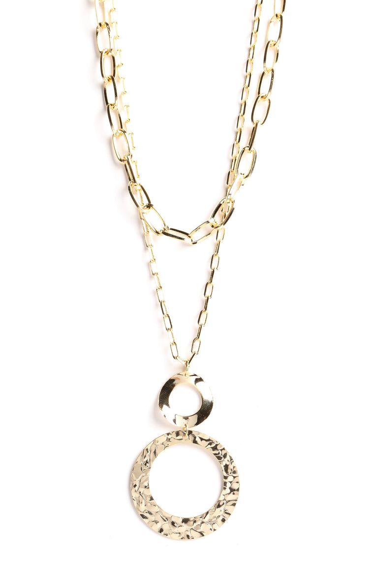 Natalia Layered Necklace - Gold
