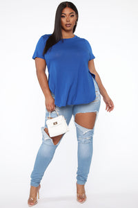 Laid Back Tee - Royal Angle 6
