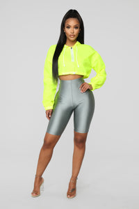 Kylie Reflective Jacket - Yellow Angle 2