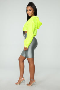 Kylie Reflective Jacket - Yellow Angle 3