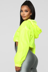 Kylie Reflective Jacket - Yellow Angle 4