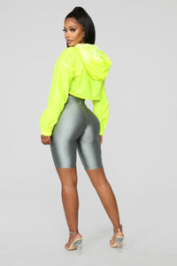 Kylie Reflective Jacket - Yellow Angle 5