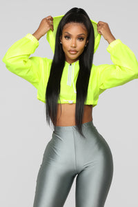 Kylie Reflective Jacket - Yellow Angle 1