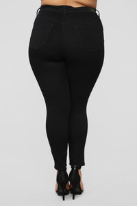 Up Lift Your Backside Jeans - Black