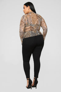 Feline You Top - Leopard