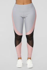 Dedicated to Fitness Active Leggings - Grey/combo