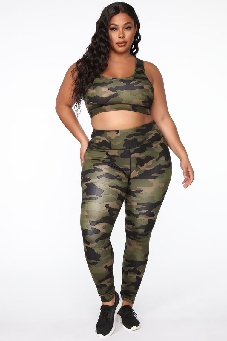 I Need A Soldier Active Legging - Green