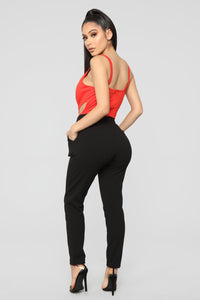 Carry On Bodysuit - Red