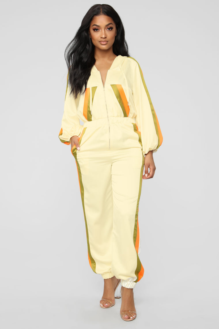Never Change Active Jumpsuit - Cream
