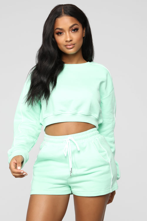 Forever Yours Act Top - Mint