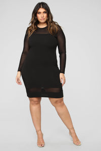 Pretty Young Thang Dress - Black Angle 3