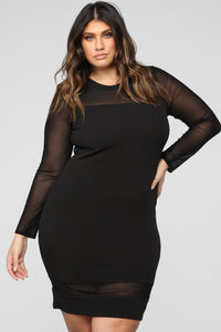 Pretty Young Thang Dress - Black Angle 1