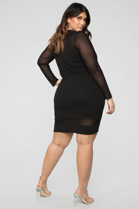 Pretty Young Thang Dress - Black Angle 2