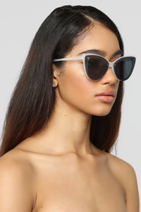 Little Things Sunglasses - White Angle 1