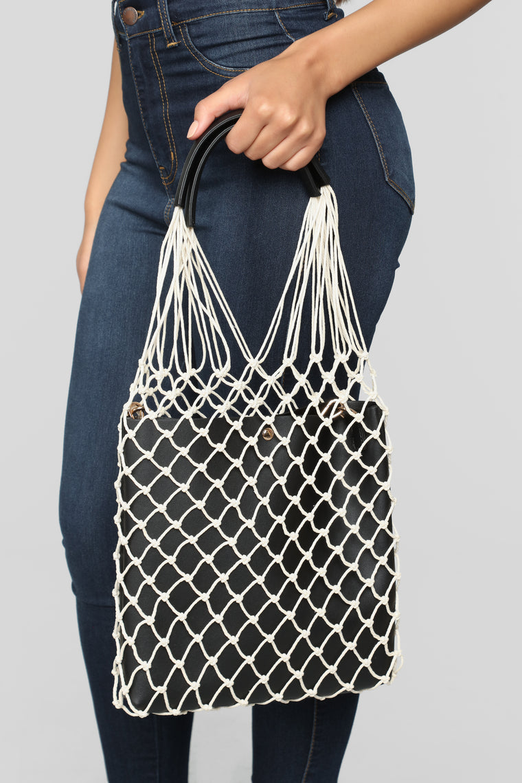 Net Into You Bag - Black