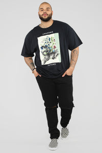 Unknown Futures Short Sleeve Tee - Black/Combo