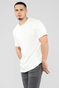 Trent Short Sleeve Tee - White