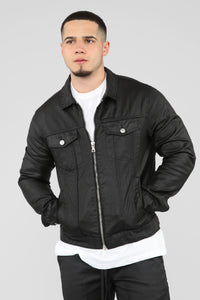 Hamilton Denim Jacket - Black