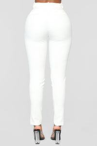 Publicist Party Pants - White