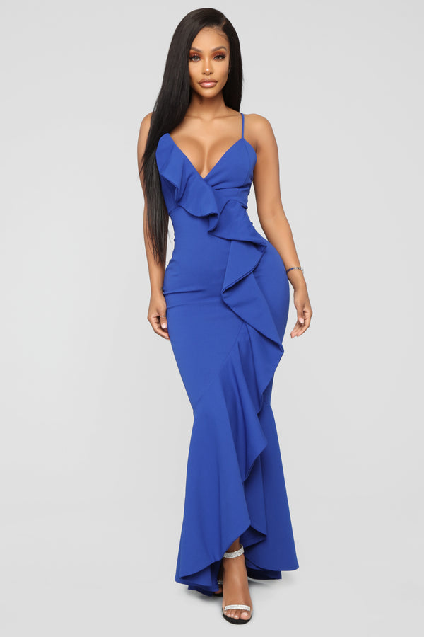 Feel Like Dancing Maxi Dress - Royal 847f3259f