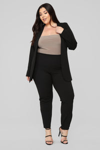 Payin' It Forward Blazer Set - Black Angle 9