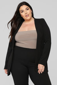 Payin' It Forward Blazer Set - Black Angle 10