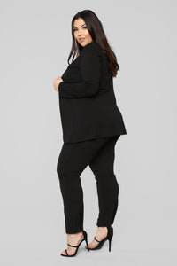 Payin' It Forward Blazer Set - Black Angle 11