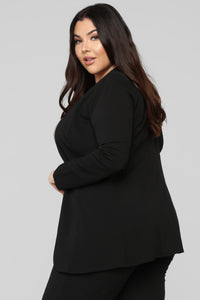 Payin' It Forward Blazer Set - Black Angle 12