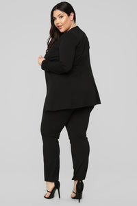 Payin' It Forward Blazer Set - Black Angle 13