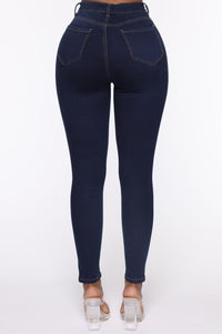 Oooh Girl High Rise Ankle Jeans - Rinse Angle 6