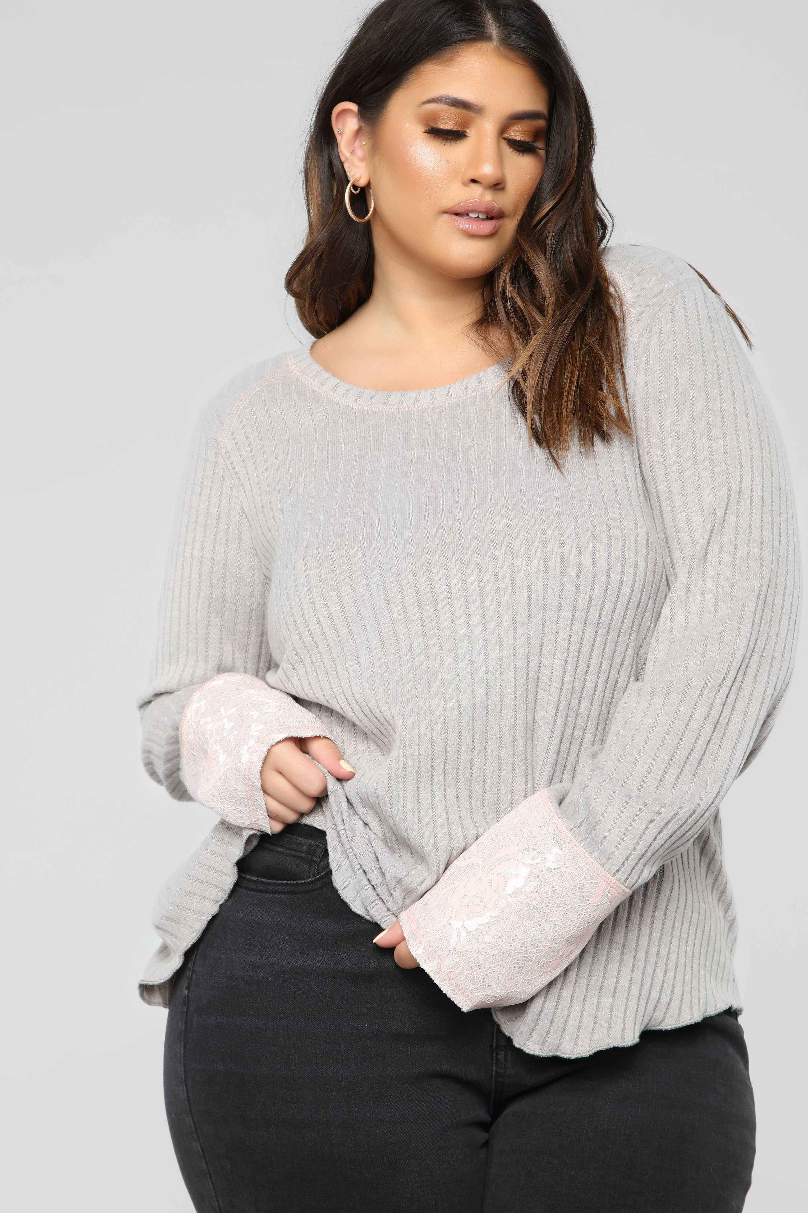 e94722ae17cad All Or Nothing Sweater - Off White. 8. SKU  WKT1100 OffWhite XS.  24.99   19.98. Amber Long Sleeve Top - Grey