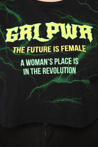 Power Of Women Top - Black