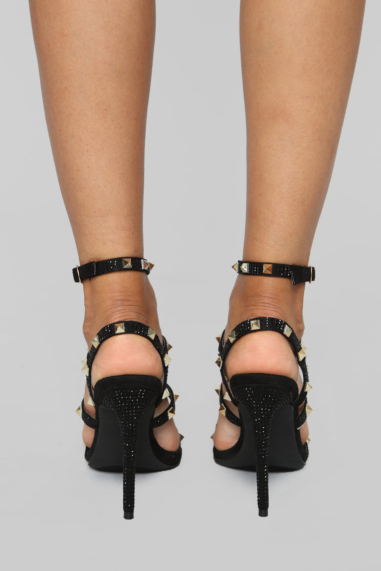 I'm Ready Heeled Sandal - Black