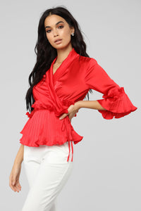 Fall In Love Top - Red Angle 3