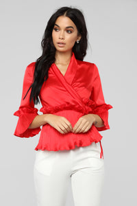 Fall In Love Top - Red Angle 1