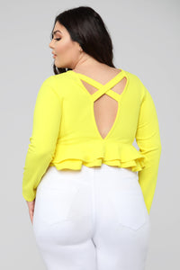 The Chosen One Top - Yellow