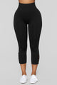 Always On Time Seamless Leggings - Black