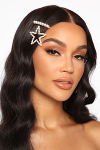 Seeing Stars Hair Pin Set - Ivory Angle 1