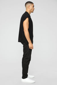 Cyrus Sleeveless Top - Black