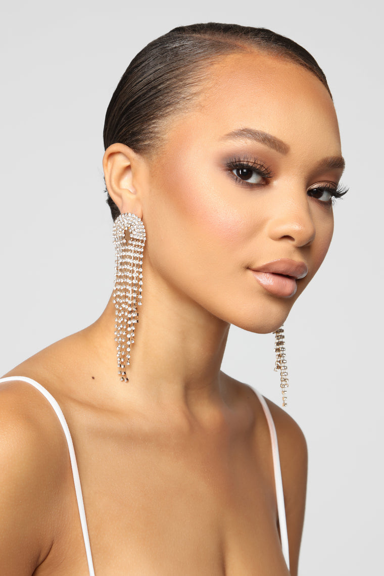 All Dressed Up Earrings - Gold