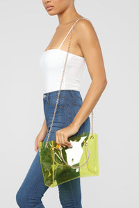 In Clear Sight Tote Bag - Yellow