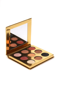 Lurella 9 Color Eye Shadow Palette - Multi Angle 1