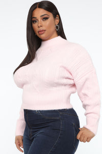 Dream Come True Sweater - Light Pink Angle 9