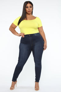 Irreplaceable Me Top - Yellow Angle 2