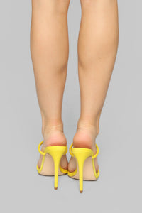 Reminiscence Heeled Sandals - Yellow